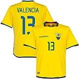 Ecuador Home Valencia Jersey 2015 / 2016 (Fan Style Printing) - L