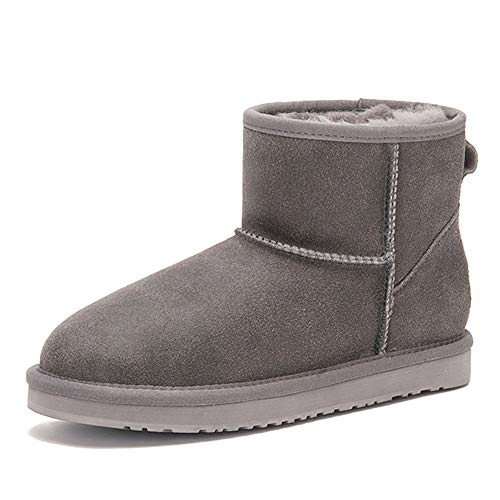 CCE Shearling Boots for Women, 2018 Winter Warm Fur Liners Basic Ankle Booties Snow Boots, 4.5 M US ()