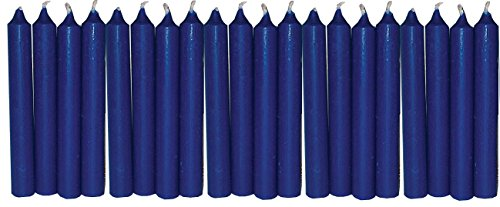 Biedermann & Sons Chime or Tree Candles 20-Count Box, Dark Blue