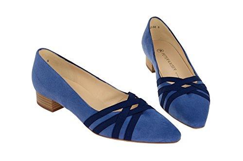 Peter Kaiser 22729/365 - Zapatos de vestir de Piel para mujer azul claro
