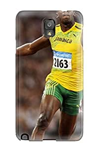 IGWguuv2593FFNCw Audunson Awesome Case Cover Compatible With Galaxy Note 3 - Usain Bolt Running
