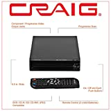 Craig CVD512a Compact DVD Player with Remote in