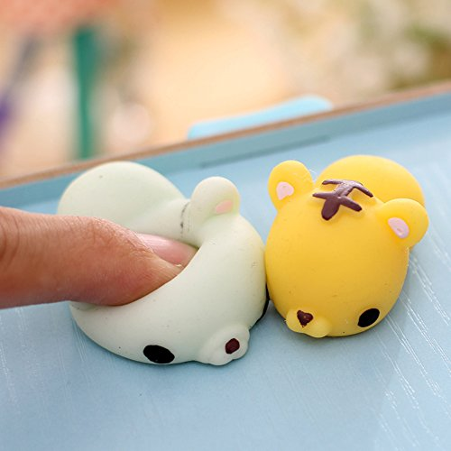 Squishy Uae : AMTopshow Korean Style Funny Stress Relievers Squishy Toys, Fresh Green Bear - Buy Online in UAE ...