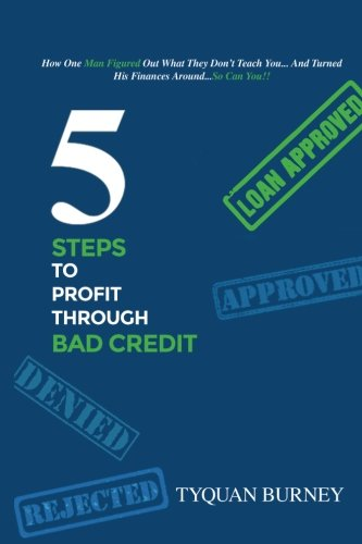 5 Steps to Profit Through Bad Credit: How One Man Figured Out What They Don't Teach You...And Turned His Finances Around...So Can You PDF