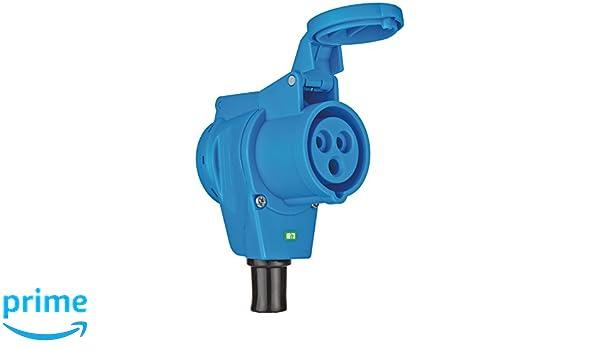 230 V Azul y Gris Brennenstuhl 1081010 Clavija