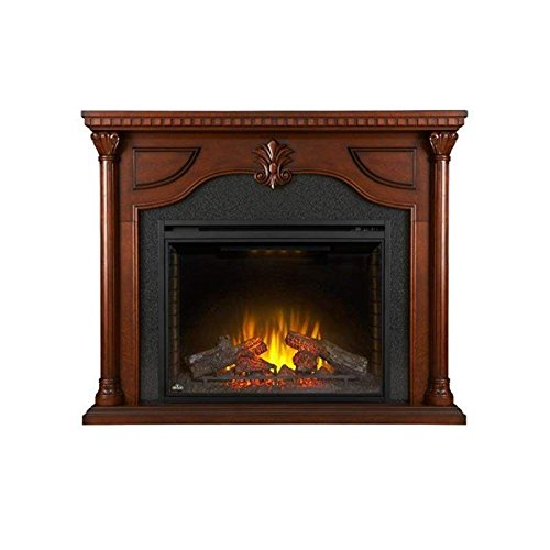 Napoleon Decorative Log - Napoleon NEFP40-0714C The Aden Mantel Package Comes with 40