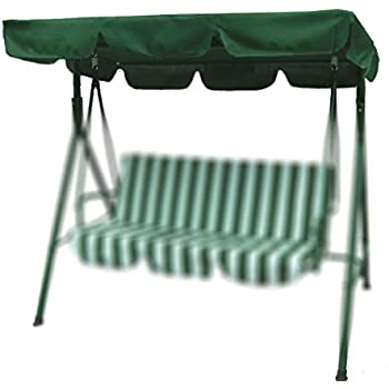 Porch Swing Canopy with UV Blocking Waterproof Park Seat Top Cover Replacement for Outdoo Bench Patio  sc 1 st  Amazon.com & Amazon.com : Brand New Replacement Swing Set Canopy Cover Top 77 ...