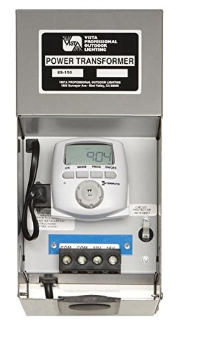 Vista ES Series Energy Smart Transformer, 150 watts, Dual voltage taps (12 and 15 volts) by Vista ES-150