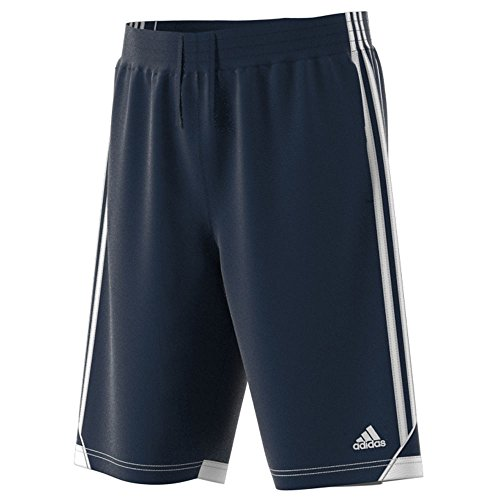 adidas Men's Basketball 3G Speed Shorts, Collegiate Navy/White, (Adidas Blue Basketball Shorts)