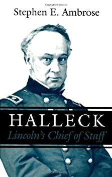 Halleck: Lincoln's Chief of Staff 0807120715 Book Cover