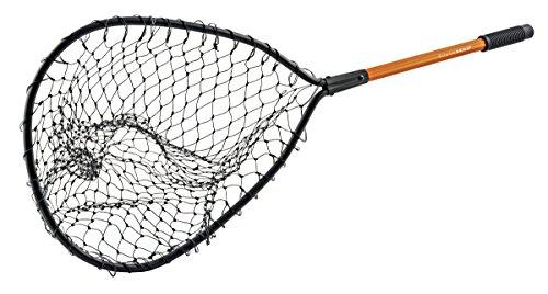 Maurice Sporting Goods LN-250 Landing Net, Black Poly/Aluminum, 14 x 15-In.