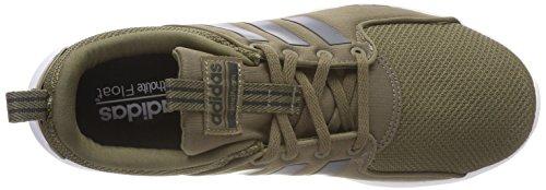 Adidas Scarpe Da Uomo In Esecuzione Cloudfoam Lite Corridore Formazione Db0453 Verde (carico Scuro / Carbone / Calzature Bianco)