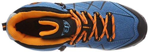 Adulte Chaussures orange Brütting orange blau De schwarz Blau Randonnée Hautes schwarz Bleu Mixte High Kansas rF0q1PFHR