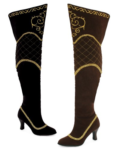 Ellie Shoes 609-JEZEBEL Leopard Platform Satin Lace Open Toe Stiletto Heel Pump-7