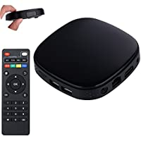 Szjsl TV set top box,TVBox Android 5.1/6.01 for HDMI HD TV Media Streamer Network Player Smart Wifi IPTV Set-top Box 4K 10-bit H.264/H.265
