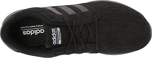 Adidas Neo Women's CF QT Racer W Sneaker, Core Black, Core Black, Ftwr White, 8 M US
