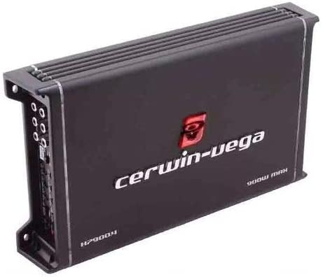 360W RMS HED 7 Series 4-Channel Car Amplifier Cerwin Vega H7900.4 HED 7 Series Class-A//B Full Range 2-ohm Stable 4-Channel Amplifier 900W Max