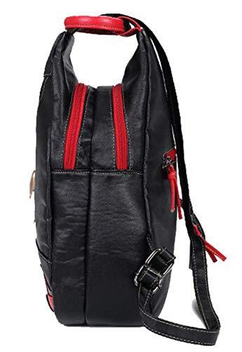 Dos Noir Sacs AgooLar à Noir bandoulière extérieures Sacs GMBBB181841 Daypack Activités Femme Dacron à wYxYgqBZ