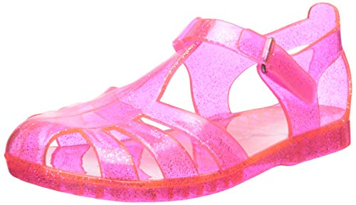 carter's Girls' Weslee Jelly Fisherman Sandal, Fuchsia, 8 M US Toddler