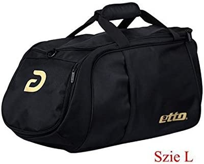 RCD Online Etto Men Sports Training Bag for Football Black L