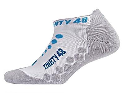 Thirty48 Ultra-Light Running Socks Unisex, CoolPlus Fabric Keeps Feet Cool & Dry
