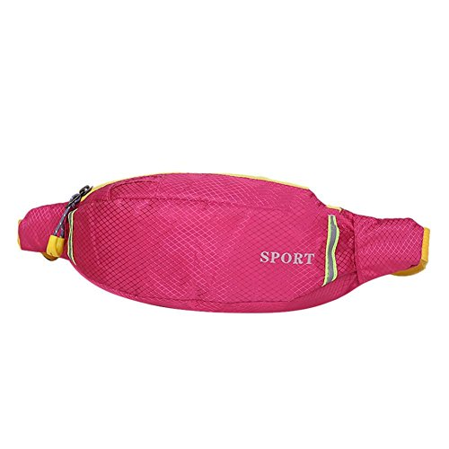 Waterproof Waist Sports Everpert Pack Bag Women Red Rose Chest Portable Outdoors Shoulder men wAxHAXtq0