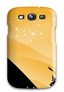 Perfect Fit PSRbVGv394tbPrB Artistic Halloween Themed S Case For Galaxy - S3