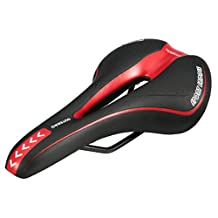 OUTERDO Bicycle Saddle MTB Road Gel Comfort Saddle Bike Bicycle Cycling Seat Cushion Pad 27*15CM
