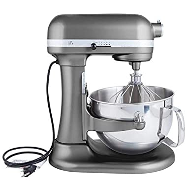 Kitchenaid Professional 600 Stand Mixer 6 quart, Pearl Metallic (Certified Refurbished)