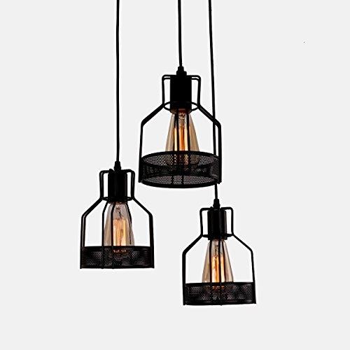 Industrial Pendant Island Light, MKLOT Ecopower Retro Vintage Style 5.51