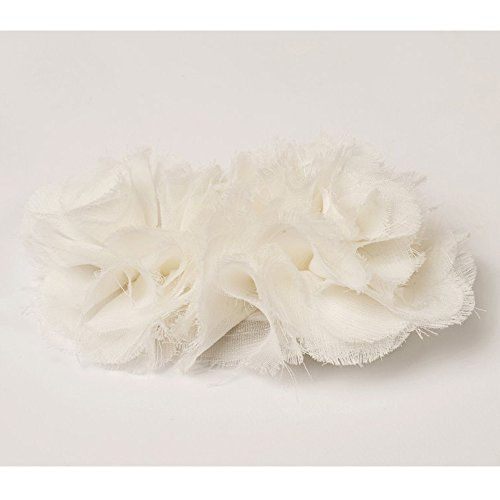 White Flower Hair Clip for Girls - The