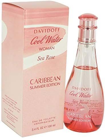 Cool Water Sea Rose Caribbean Summer by Dävídöff for Women Eau De Toilette Spray 3.4 oz