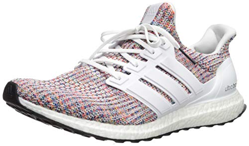 adidas Men's Ultraboost, White/White/Collegiate Navy, 10 M US