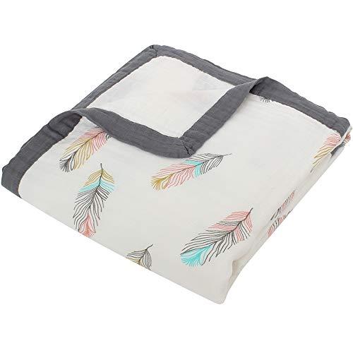 LifeTree Baby Muslin Stroller Blanket,