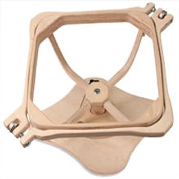Grace Frame Wood Swivel Laphoop / Hand Quilting Hoop Plain: Amazon ... : grace quilting hoop - Adamdwight.com
