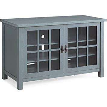 Amazoncom Better Homes and Gardens Oxford Square Blue TV Stand