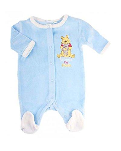 Winnie the Pooh - Pelele - para bebé niño Azul azul: Amazon.es: Ropa y accesorios