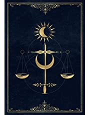 JUSTICE - Tarot Journal 1 Card Spread: daily reading tracker and notebook - 120 Pages (Tarot Card Notebooks): Logbook and Notebook to Track Your Tarot Card Readings