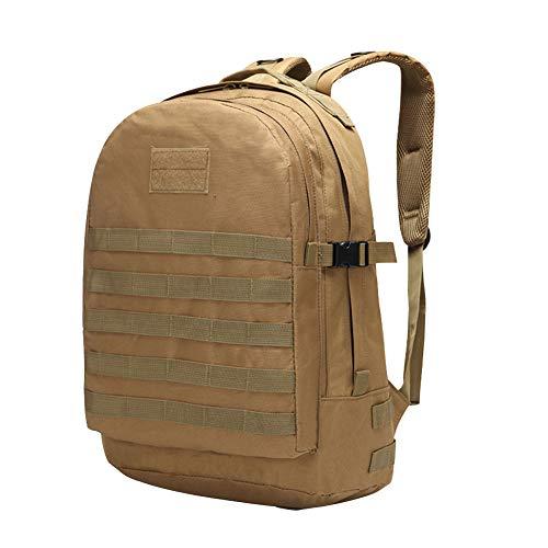 Military Backpack Waterproof Acu Mountaineering Bag Multifunctional Tactical Tan Knapsack 57q7U1B