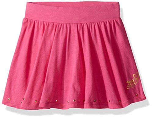 Skirt Danskin (Jojo Siwa By Danskin Big Girls' Flutter Skort, Pink, SM)
