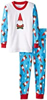 Sara's Prints Boys' Long John Pajamas
