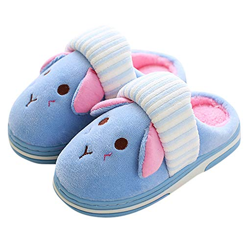 Cartoon Slippers,G-real Toddler Baby Boys Girls Cute Cartoon Shark Shoes Soft Anti-slip Winter Home Shoes