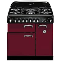AGA ALEG36DFCRN Legacy Series 36 Freestanding Pro-Style Dual Fuel Range with 5 Sealed Burners 2.2 cu. ft. Convection Oven 1.8 cu. ft. 7 Mode Multifunction Oven and Solid Doors in