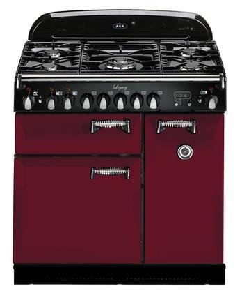 AGA ALEG36DFCRN Legacy Series 36'' Freestanding Pro-Style Dual Fuel Range with 5 Sealed Burners 2.2 cu. ft. Convection Oven 1.8 cu. ft. 7 Mode Multifunction Oven and Solid Doors in by AGA