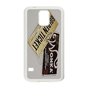 Willy Wonka Golden Ticket Chocolate Bar for Samsung Galaxy S5 Case ATR047097