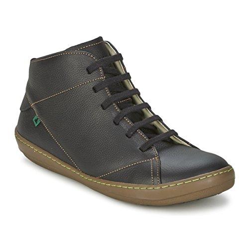 Les Hommes El Naturalista N212 Grain Doux Brun / Noir Chaussures De Sport Meteo