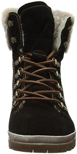 Tamaris 262, Botas Militar para Mujer Negro (BLACK 001)