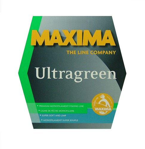 Maxima Fishing Line Mini Pack, Ultragreen, 6-Pound/110-Yard
