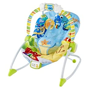 Baby Einstein Rhythm of the Reef Rocker Bouncers Vibrating Chair Play Music Vibrates Volume Control Detachable  sc 1 st  Amazon.com & Amazon.com : Baby Einstein Rhythm of the Reef Rocker Bouncers ...