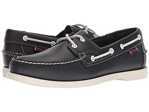 (Sebago Men's  Blue Nite (Navy) Docksides Boat Shoe - 11.5 2E US)